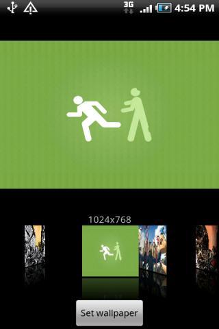 【免費個人化App】Zombie Wallpaper v1-APP點子