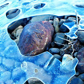 Melting the ice  by Ingas Stuff - Nature Up Close Other Natural Objects