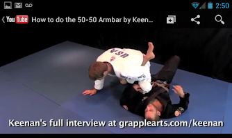 Screenshot of BJJ Flow (Brazilian Jiu Jitsu)