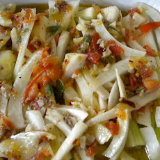 Italian Braised Fennel and Leeks
