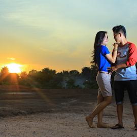 IN SUNSET by Rio MisteRio - People Couples (  )