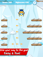 Screenshot of Angry Penguin Jump