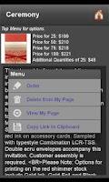 Screenshot of Wedding Invitation Finder