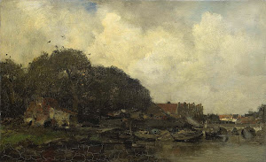 RIJKS: Jacob Maris: painting 1899