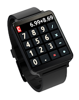 Screenshot of Calculator - Android Wear