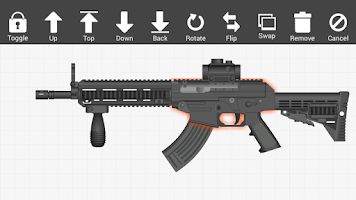 Screenshot of Weapon Builder