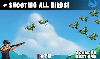 Screenshot of 99 Bullets Bird Shooting