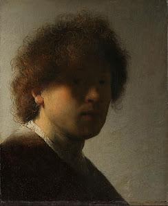 RIJKS: Rembrandt Harmensz. van Rijn: Self-portrait 1628