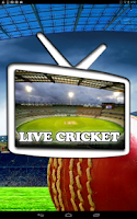 Screenshot of Live Cricket