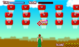 Screenshot of Basketball  Crazy Free Throw