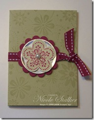 A Beautiful Life Gift Card Holder