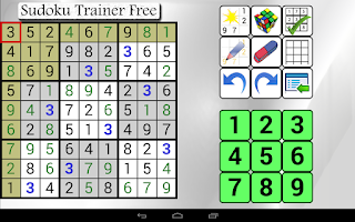 Screenshot of Sudoku Trainer Free