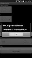 Screenshot of RMD Calculator