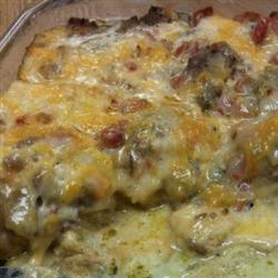 Zippy Egg Casserole