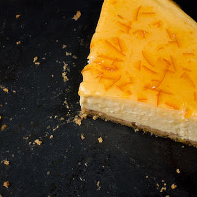 Orange-Vanilla Ricotta Cheesecake