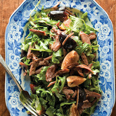 Goose Confit and Fig Salad