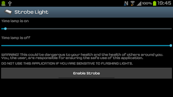 Screenshot of Strobe Light