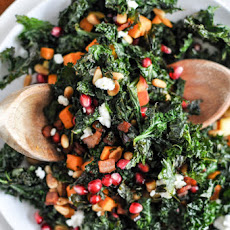 Crispy Autumn Kale Salad