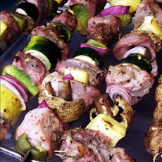 Oregano & Lemon Pork Kebabs