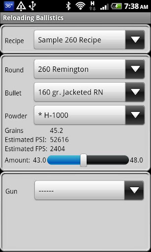 260 Remington Ballistics Data