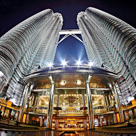 KUALA LUMPUR CITY CENTRE by Andy Teoh - Buildings & Architecture Office Buildings & Hotels ( klcc, building, atp, malaysia, andyteohphotography )