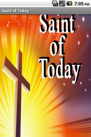 Saint of Today