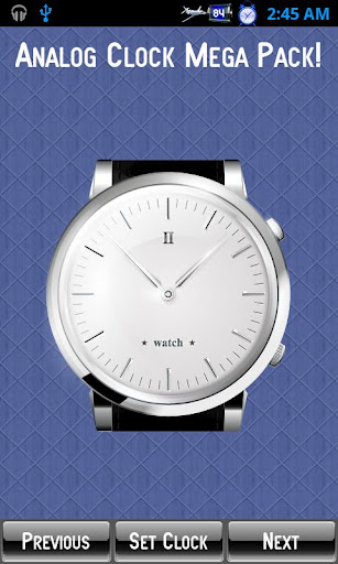 Talking Clock Analog - Online Stopwatch
