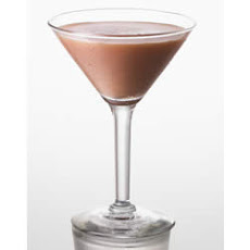 Cuervo Platino Banana-Black Raspberry Martini