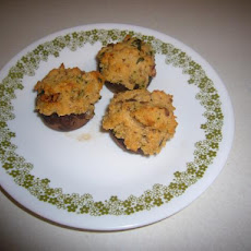 Stuffed & Herbed Mushrooms
