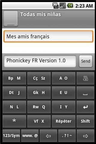 Phonic Keyboard French