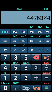 Easy scientific Calculator - screenshot