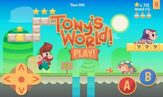 Screenshot of Tony's World