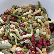Asian-Style Three Bean Salad