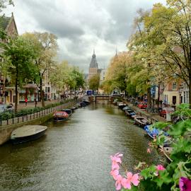Leidsekanaal, Amsterdam by Ludwig Wagner - Instagram & Mobile iPhone