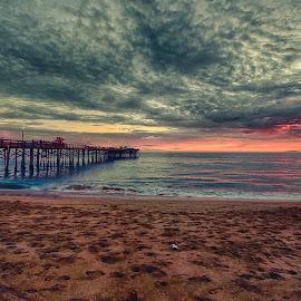 Balboa Pier by Jose Matutina - Landscapes Beaches ( orange county, california, balboa pier, newport beach )