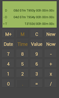 Screenshot of Calendar Calculator