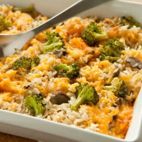 Broccoli, Rice and Cheese Casserole