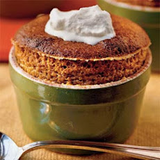 Spiced Soufflés With Lemon Whipped Cream