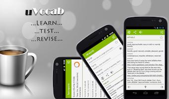 Screenshot of uVocab - Vocabulary Trainer