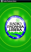 Screenshot of Radio Padania Libera