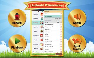 Screenshot of Learn Arabic - Phrase & Words