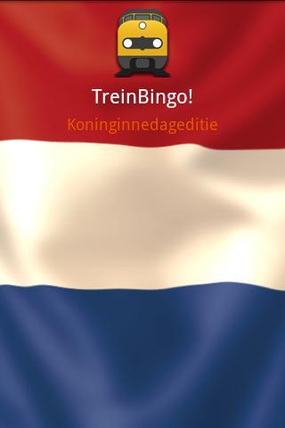 TreinBingo - Koninginnedag