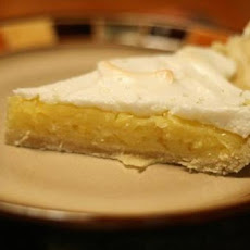 Pineapple Sour Cream and Meringue Pie