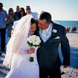 by Chrystal Olivero - Wedding Bride & Groom ( wedding, bride and groom, bride, groom, portrait )