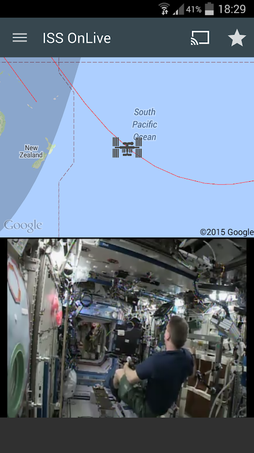 ISS onLive: Live Earth cameras Screenshot 10