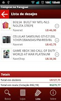Screenshot of Compras no Paraguai