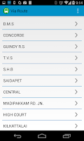 Screenshot of Chennai MTC