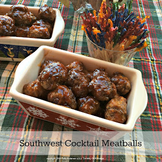 Southwest Cocktail Meatballs