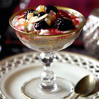 Ginger-spiced Berry Trifles