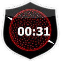 Beads Digital Clock icon